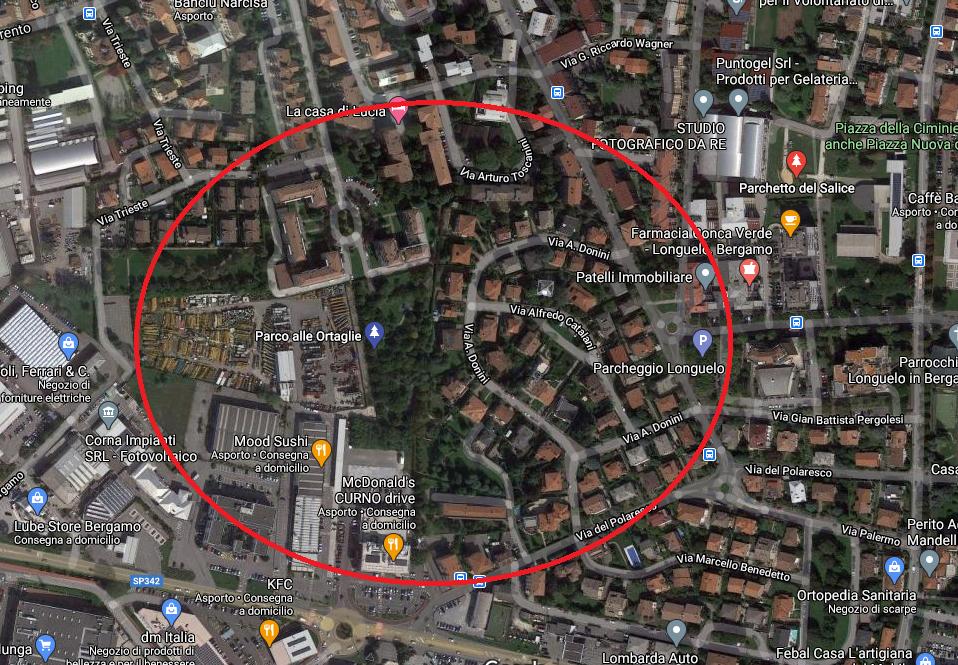 Città Longuelo terreno edificabile